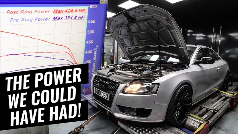0-60MPH TESTING WITH THE POWER WE COULD HAVE HAD! - AUDI A5 3.0 TDI QUATTRO PROJECT