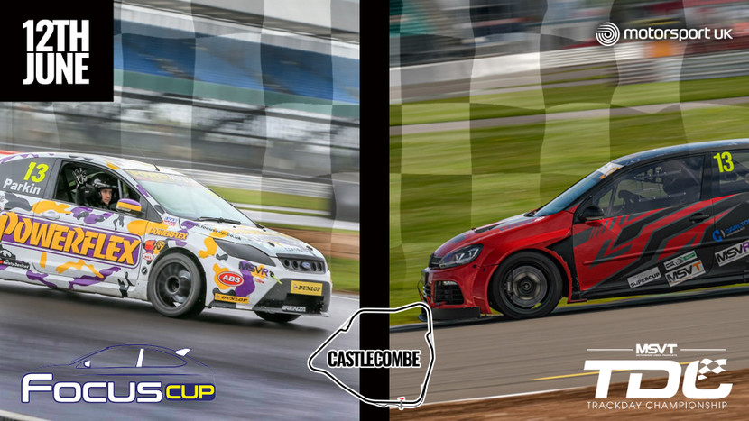 Castle Combe - MSV Trackday Championship + Focus Cup - 12th June