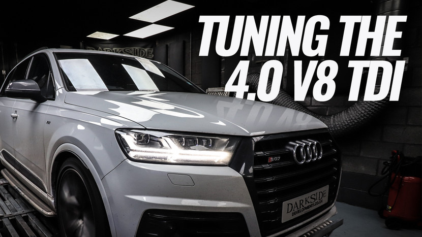 Tuning the 4.0 V8 TDI