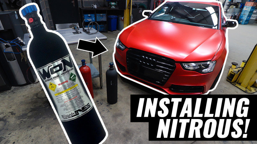 TIME TO INSTALL NITROUS OXIDE!!!  - AUDI A5 3.0 TDI QUATTRO PROJECT