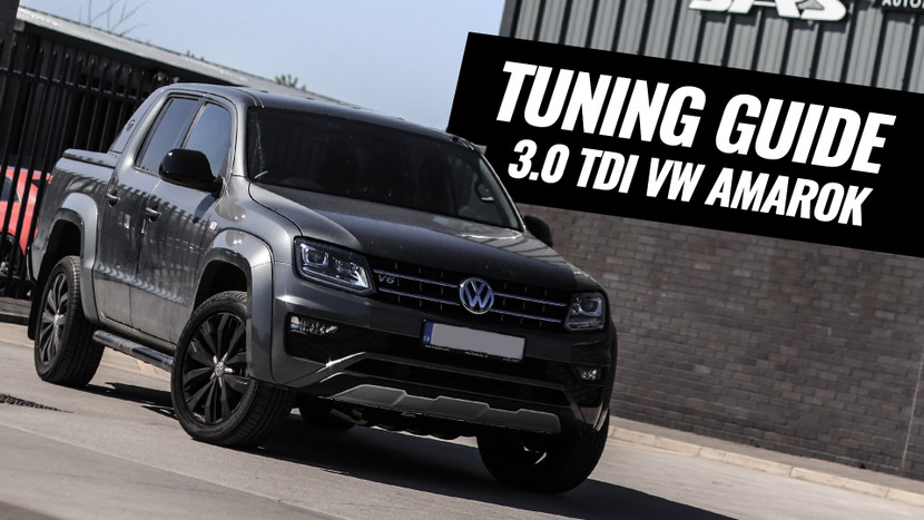 How to tune your 3.0 TDI Amarok in 3 easy steps!