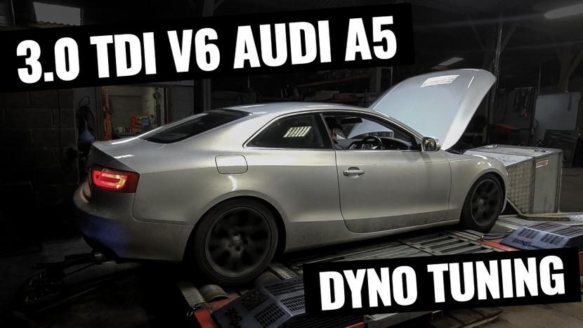 228BHP to 340BHP! 4WD DYNO TUNING - AUDI A5 3.0 TDI QUATTRO PROJECT