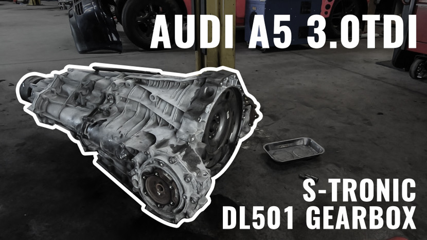 GEARBOX, CLUTCHES & FLYWHEEL - AUDI A5 3.0 TDI QUATTRO PROJECT