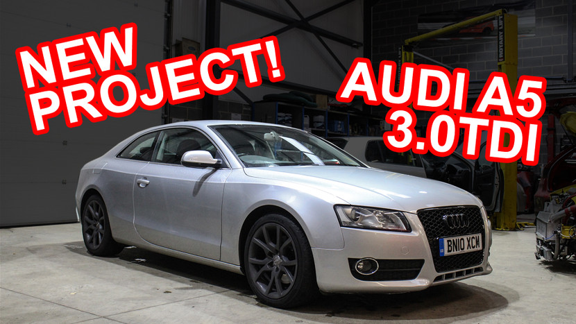 NEW PROJECT CAR! - AUDI A5 3.0 TDI QUATTRO