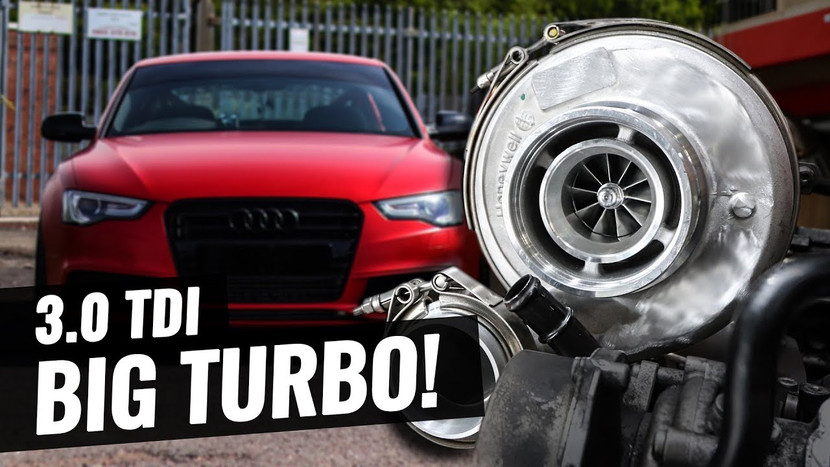 Bigger BIG TURBO TIME!! - AUDI A5 3.0 TDI QUATTRO PROJECT