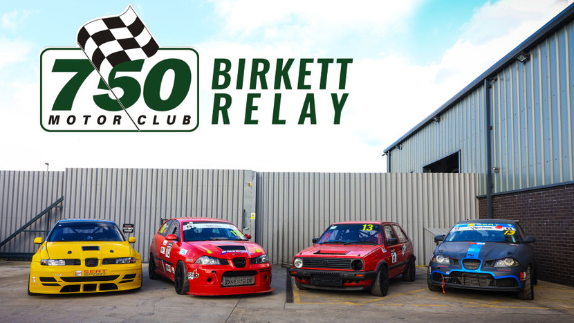 750MC Birket Relay - Silverstone GP - 26th October 2019