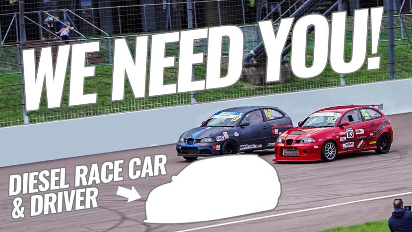 Diesel Race Car Owners - Darkside needs YOU!