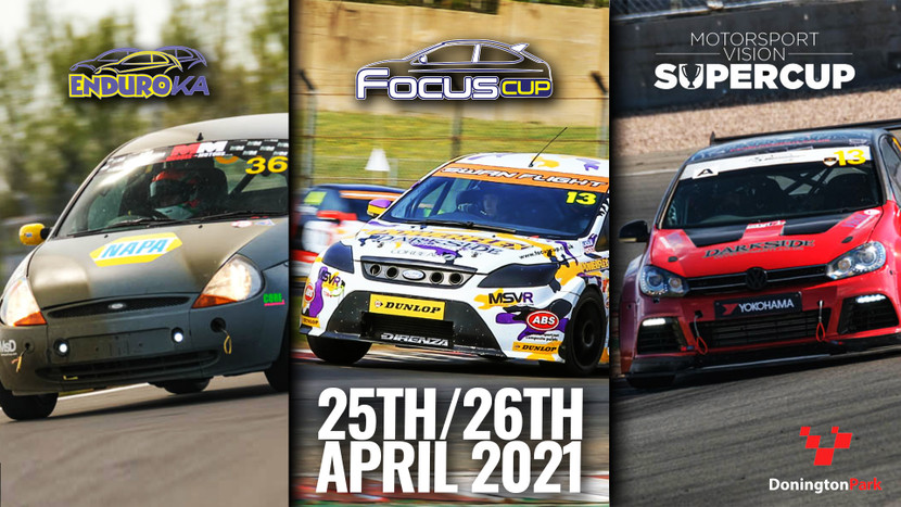 Donington National - MSVT SuperCup + Focus Cup + EnduroKA - 24th-25th April