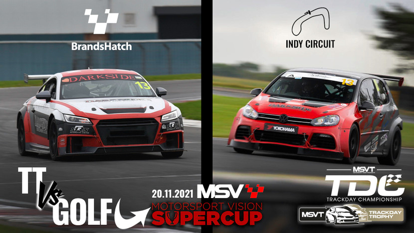 Silverstone GP - MSV SuperCup and Focus Cup  - 15th-16th August