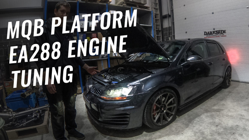 MQB Platform EA288 Engine Tuning 184 CUNA / CUPA