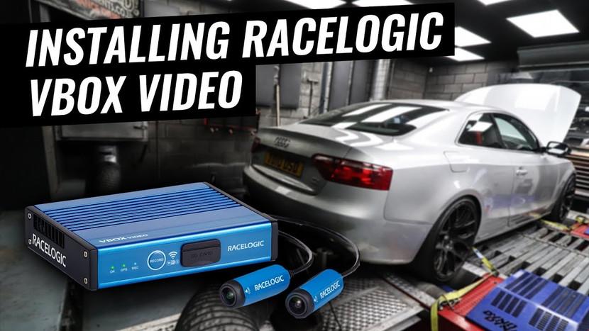INSTALLING RACELOGIC VBOX - AUDI A5 3.0 TDI QUATTRO PROJECT