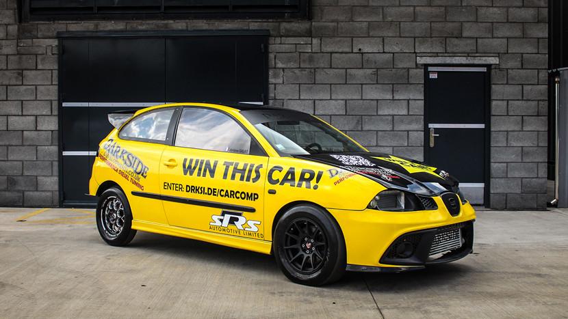 Winning Jeromes 450bhp+ TDI Drag Car Competition