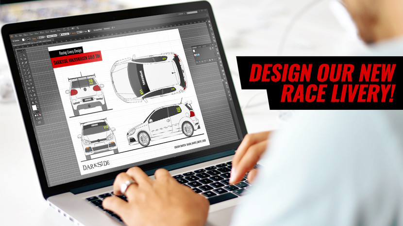 DESIGN OUR NEW RACE LIVERY! WIN A DARKSIDE MERCHADISE PACK + PASSENGER RIDES