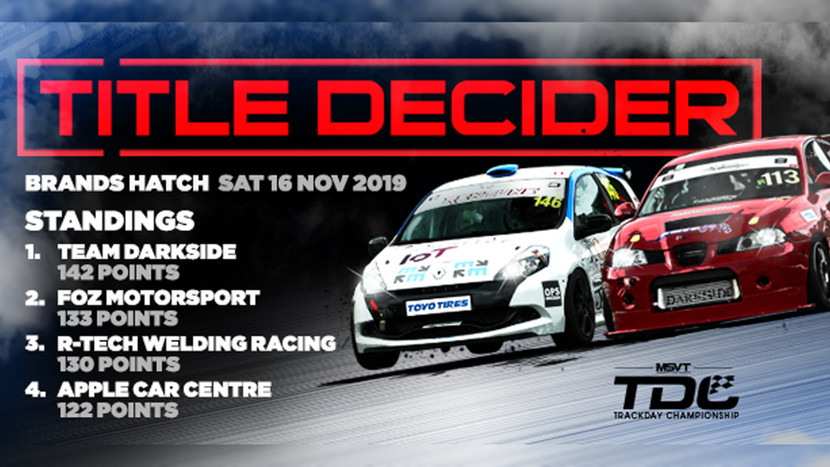 Brands Hatch Indy - 16th November 2019 - Round 7 - MSV Trackday Championship