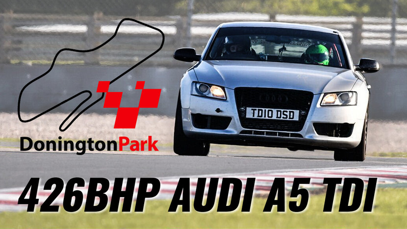 DONINGTON PARK TRACK DAY - LAST MINUTE PROBLEMS!!! - AUDI A5 3.0 TDI QUATTRO PROJECT