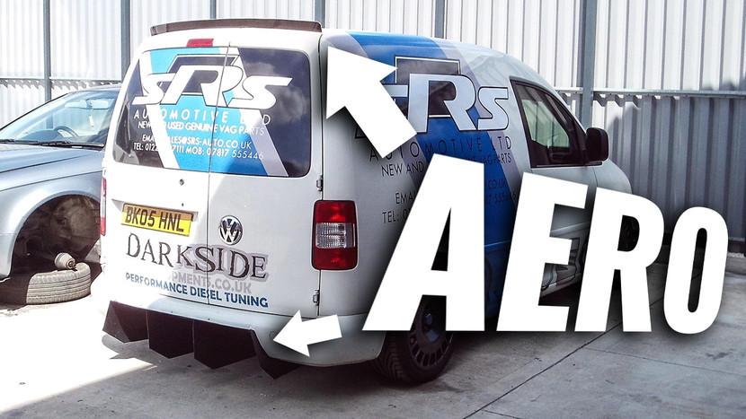Aero - SRS 2.0 CR TDI DQ500 4-Motion Caddy Build - Part 6