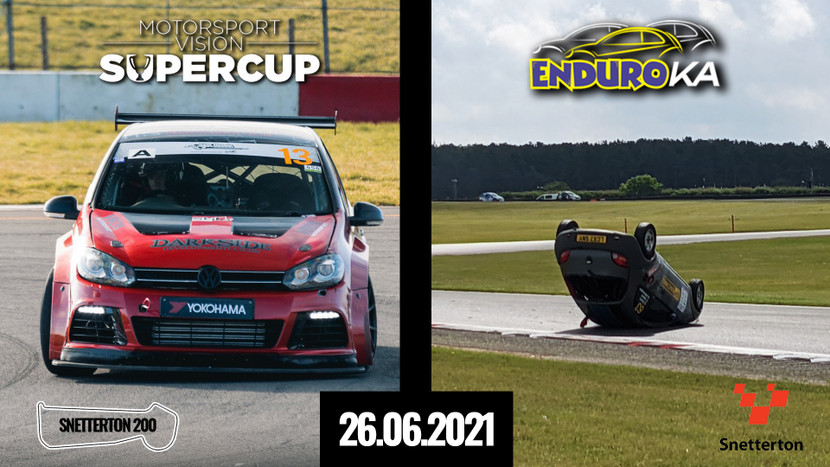 Snetterton 200 - MSVT SuperCup + EnduroKA - 25th-26th June 2021