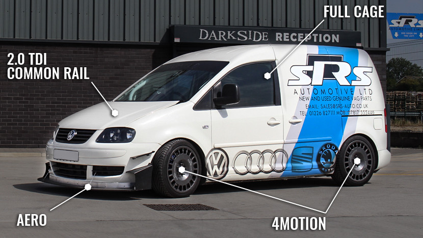 SRS Automotive 2.0 TDI CR DSG 4Motion Caddy Race Van Build