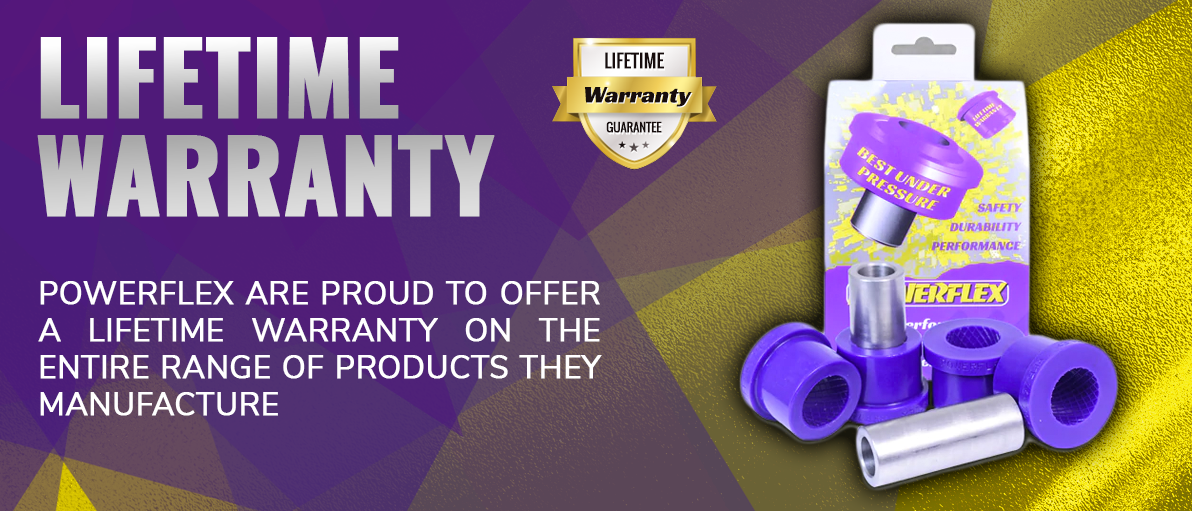Powerflex Lifetime Warranty