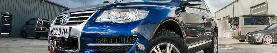 VW Touareg - BLE 5.0 V10 - JXV 6 Speed Automatic - 352.1bhp & 570Ft/Lbs