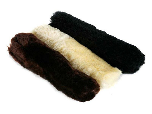 Le Mieux Le Mieux Sheepskin Noseband Covers or French Blinkers