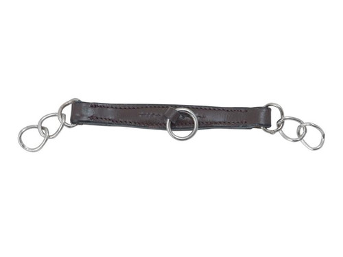 Shires Shires Leather Curb Chains
