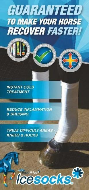 Equi-N-Ice Equi-N-Ice Ice Socks - Pair