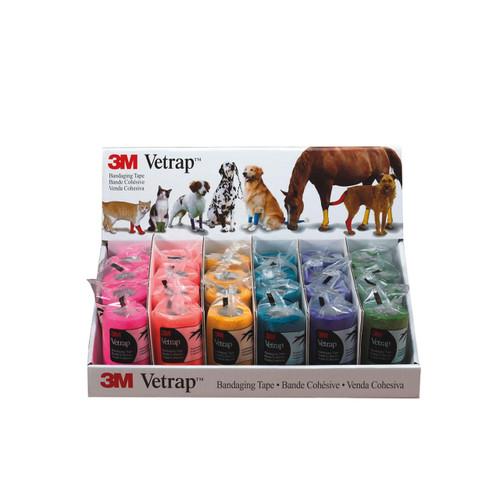 Vetrap Vetrap Equine Cohesive Bandages - Bright Pack of 24