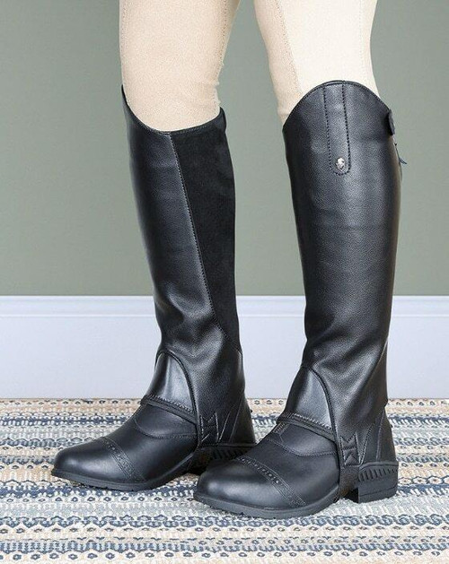Shires Shires Moretta Synthetic Leather Gaiters 9720