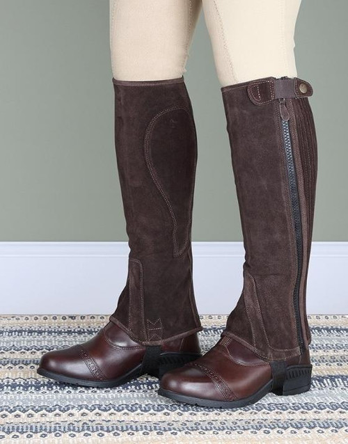 Shires Shires Moretta Suede Half Chaps - Adults