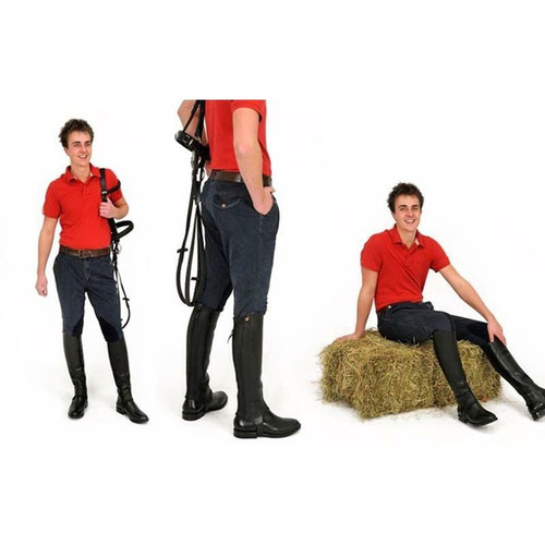 Rugged Breeches Rugged Horse Mens Denim Breeches MJ3
