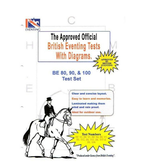 British Eventing British Eventing 80, 90 and 100 Dressage Tests