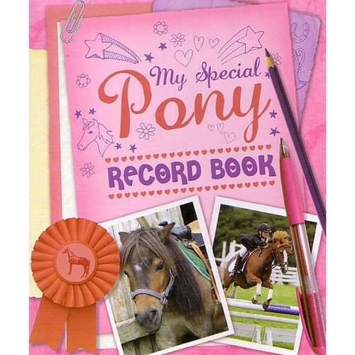 Quiller Publishing My Special Pony Record Book
