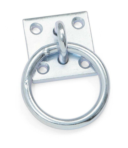 Shires Tie Ring with Plate - One Size