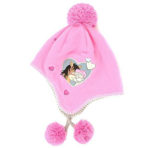 Carrots Equestrian Tatty Teddy Me to You Fleece Hat - Pink or Purple