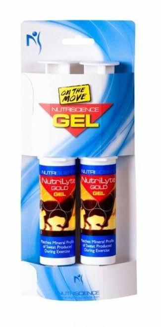 Nutriscience Nutriscience NutriLyte Gold Gel Electrolytes - Pack of 2