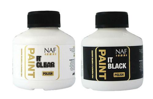 NAF NAF Paint It Hoof Polish - Clear or Black