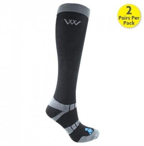 Woof Wear Woof Wear Long Bamboo Riding Socks - All Colours