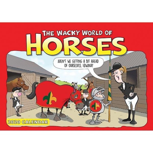 Elico Wacky World of Horses 2020 Calendar