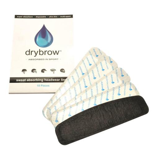 KM Elite Drybrow hat liners - pack of 10
