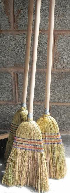 Red Gorilla Corn Broom Stable Sweeper