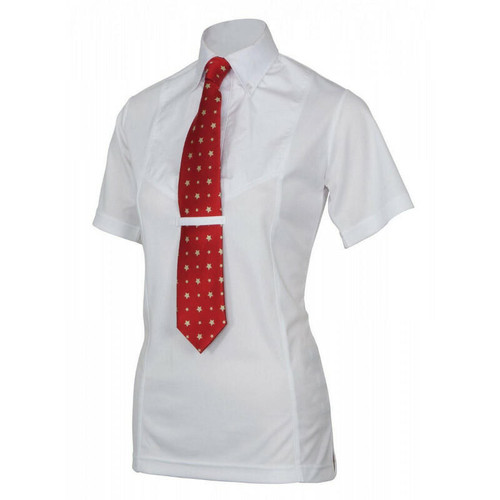 Shires Shires Short Sleeve Childrens Tie Shirt