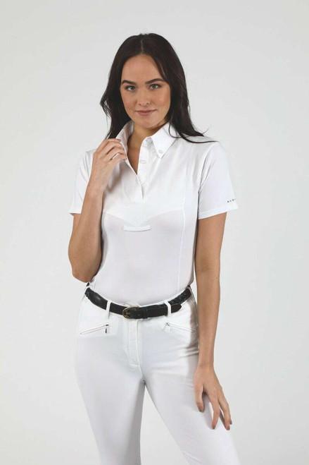 Shires Shires Aubrion Ladies Short Sleeved Tie Shirts - All Colours