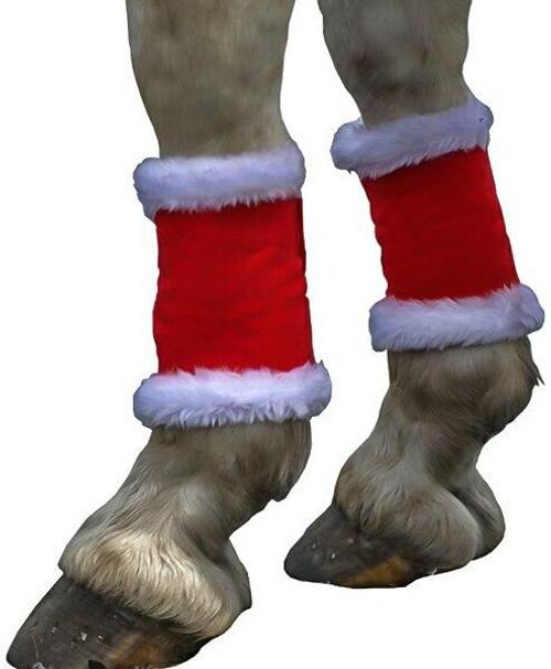 Hy Hy Christmas Santa Horse/Pony Leg Wraps