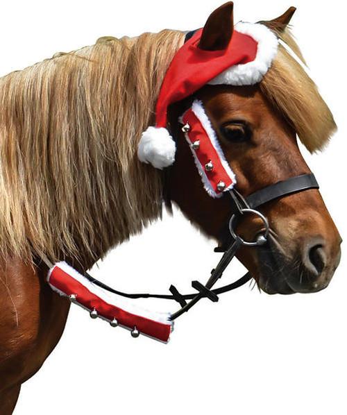 Hy Hy Christmas Santa Horse Hat