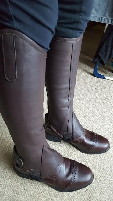 Tagg Funnell Soft Leather Gaiters - Ladies Extra Small