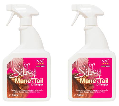 NAF Naf Silky Mane and Tail Detangler - Twin Pack