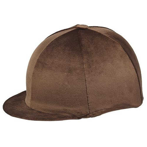 Capz Hat Covers Capz Velour Hat Cover - Brown
