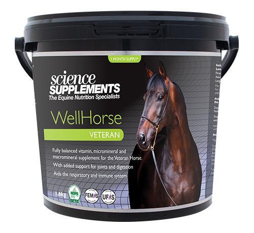 Science Supplements Science Supplements Well Horse Veteran Supplement 1.6kg