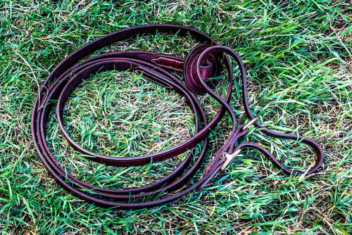 Frome Saddlery Hand Made English Leather Butterfly Lead